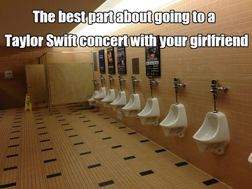 taylor swift Music girlfriend bathroom funny men vs women - 7534979584
