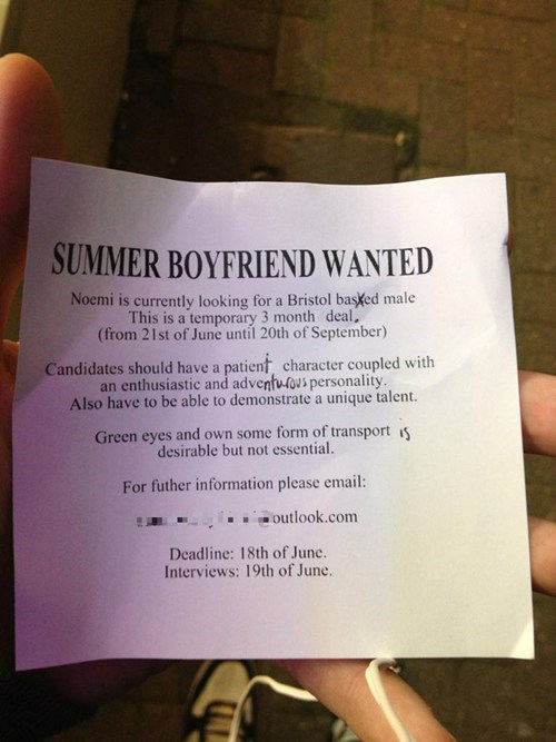 boyfriend business card cute application funny - 7534980352