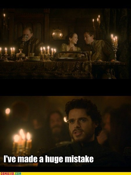red wedding ive-made-a-huge-mistake Game of Thrones - 7535285504