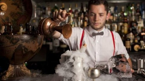 cocktails London lab magician bartender funny - 7535296000
