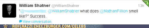 twitter nathan fillion William Shatner - 7537012224