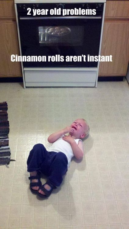tantrums kids toddlers cinnamon rolls funny g rated parenting - 7537478400