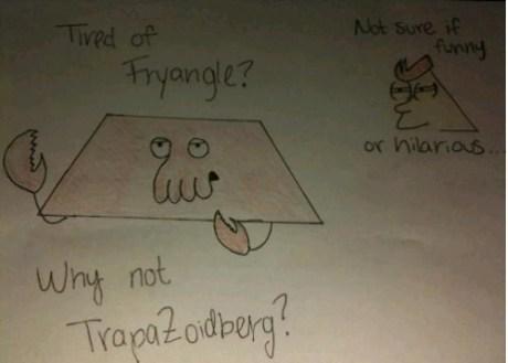 geometry puns Memes futurama Zoidberg math fry funny - 7537585920