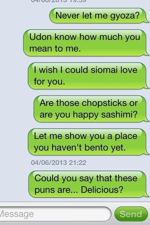 texts puns food funny - 7537608960