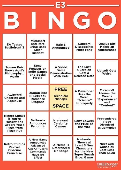 E32013 e3 bingo games - 7537855744
