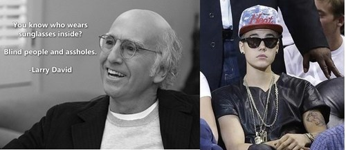 basketball larry david justin bieber - 7538035968