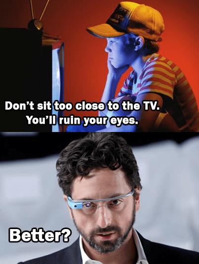 TV parents google glass - 7538053888