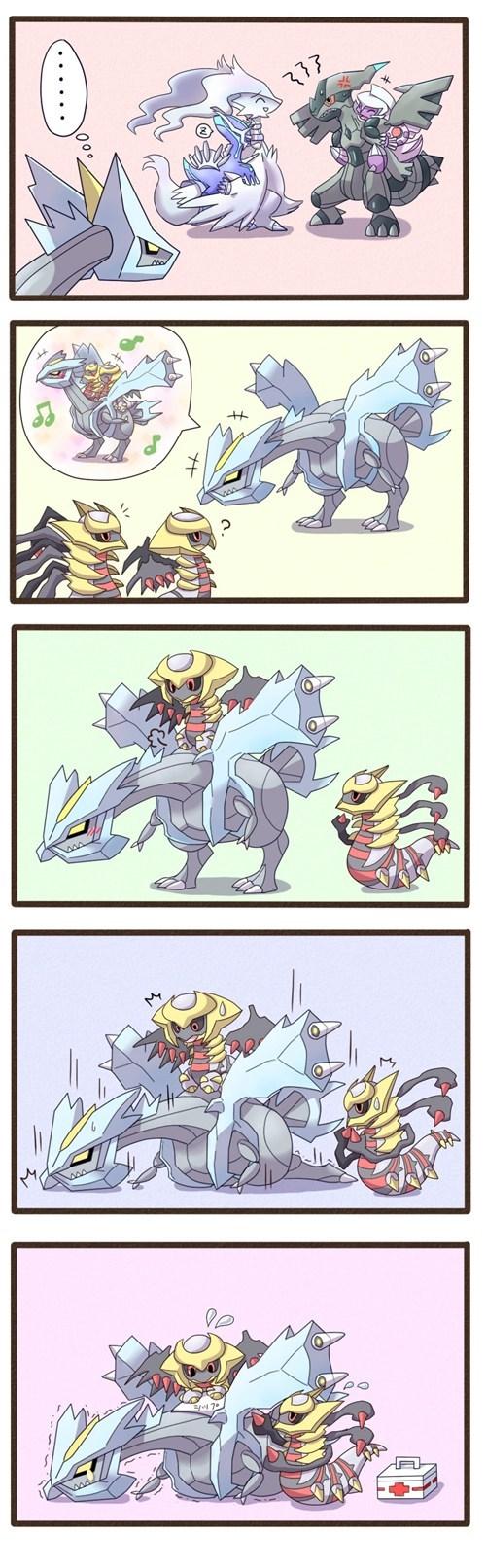 Pokémon comics legendaries kyurem - 7538061568