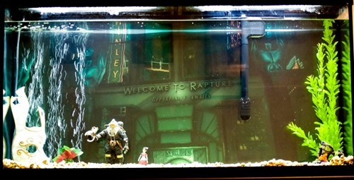 awesome,fish tank,bioshock