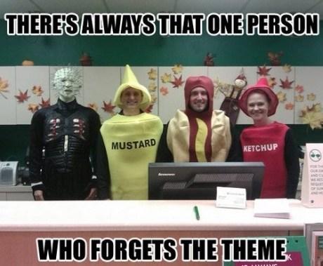 hellraiser condiments costume Pinhead - 7538142208