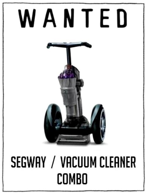 vacuum cleaner segway inventions - 7538161920