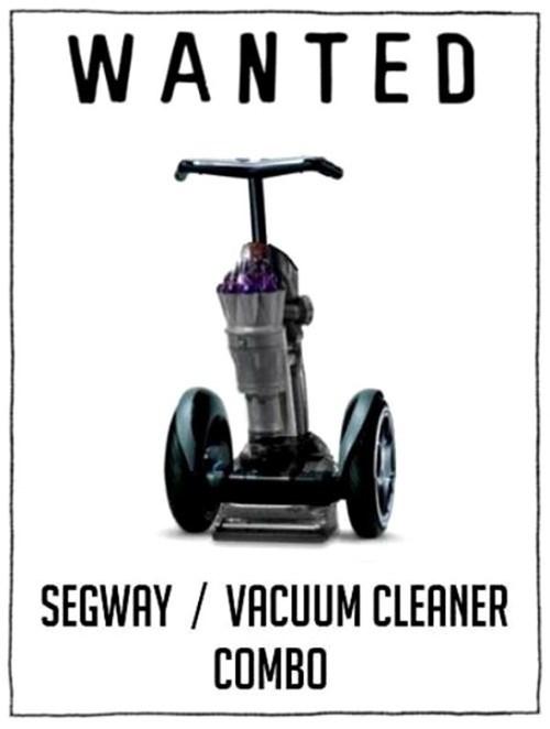 vacuum cleaner segway inventions - 7538161920