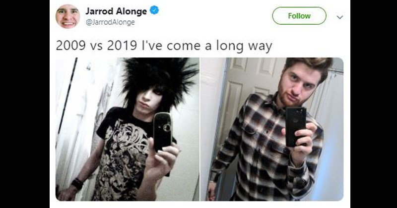 the 10 year challenge 2019