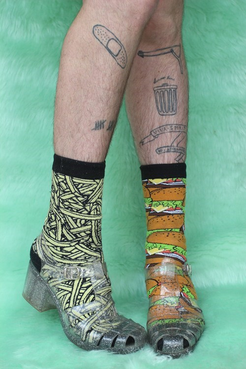 jellies,funny socks,funny