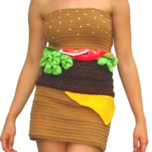 hamburgers Knitted funny - 7538381568