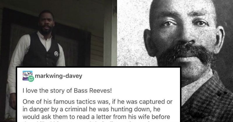 history tumblr bass reeves interesting america police - 7538437