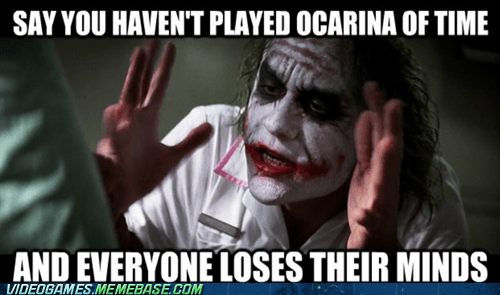 joker Memes ocarina of time the dark knight zelda - 7538989568