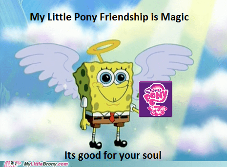 Bronies my little pony SpongeBob SquarePants - 7539087104