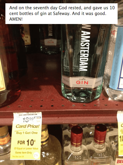 wtf miracle sale gin funny - 7539360256