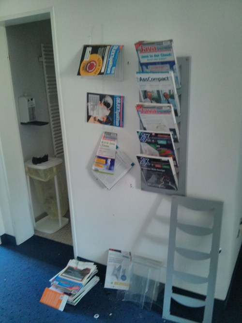 shelves magazines funny tape - 7539896064
