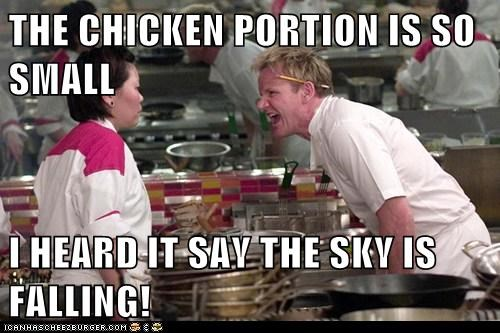 chicken little,chicken,gordon ramsay