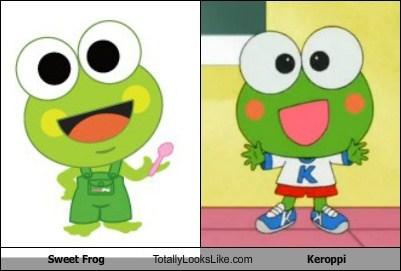 sweet frog,keroppi,totally looks like,funny