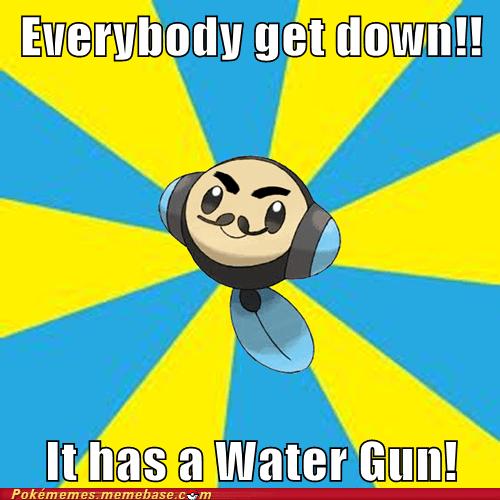 Pokémon water gun evil tympole - 7540434176