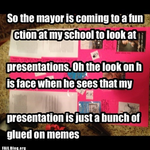 school wtf presentation idiots - 7540781824