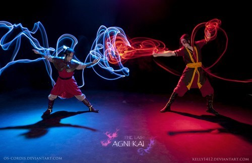 cosplay Avatar the Last Airbender cartoons - 7540841728