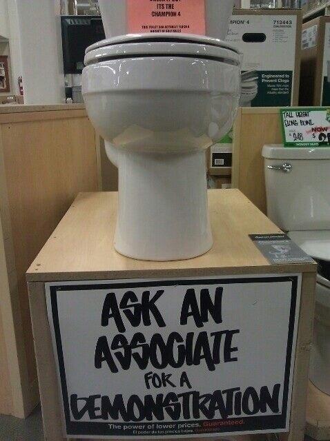 Awkward,toilet