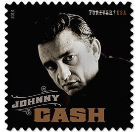 Music stamps usps johnny cash - 7540971776