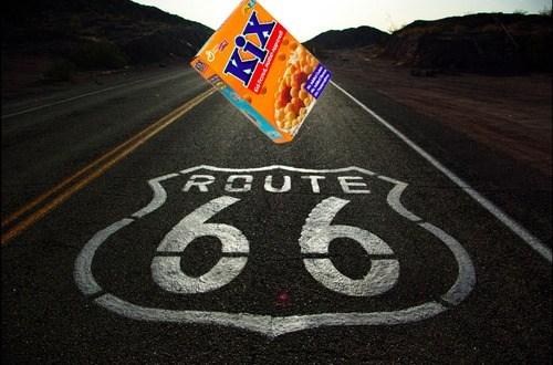 puns kix route 66 funny - 7541168896