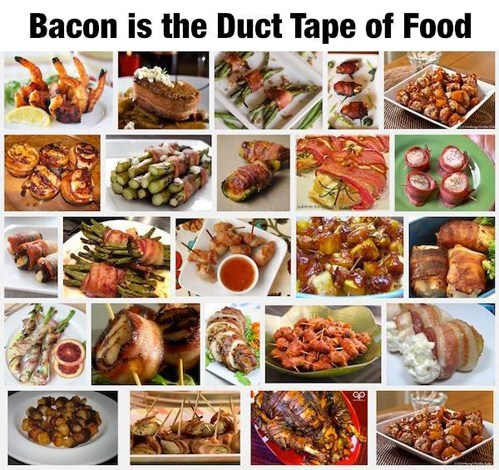 tools duct tape funny bacon g rated there I fixed it americana - 7541189376