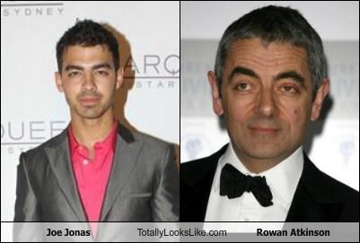 rowan atkinson totally looks like Joe Jonas funny - 7541391616