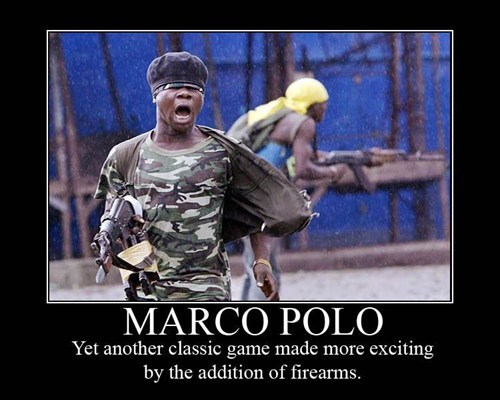 guns soldier Marco Polo funny - 7541550848