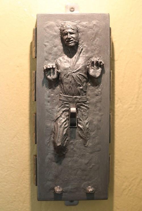 star wars light switch design nerdgasm Han Solo - 7541713408