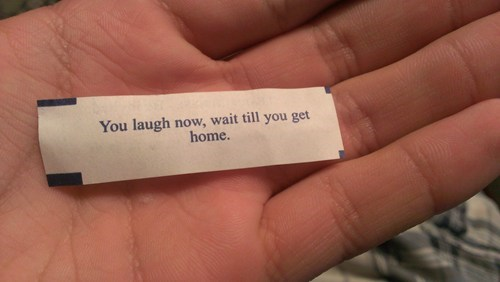 fortune cookie,gross,funny
