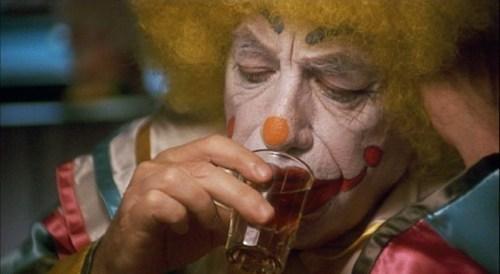 Sad,clown,drunk,funny