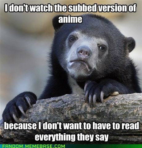 anime,fandom problems,Confession Bear
