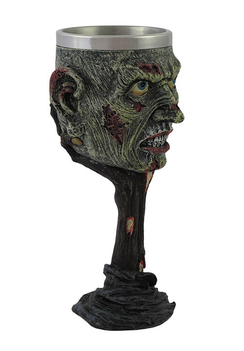 wine glass zombie funny