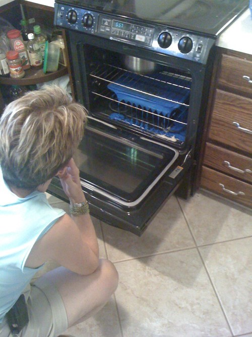 melting facepalm funny oven