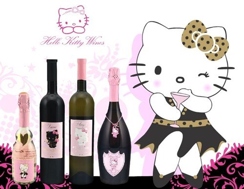 booze wine hello kitty funny after 12 g rated - 7541992192