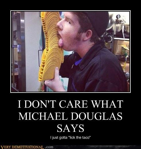 taco Michael Douglas funny - 7542008832