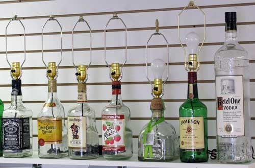 lights awesome funny bottles - 7542166016