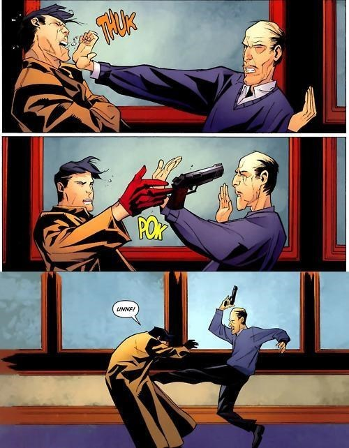 martial arts,off the page,alfred,funny