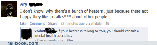 haters gonna hate,heaters,haters,spelling,failbook,g rated