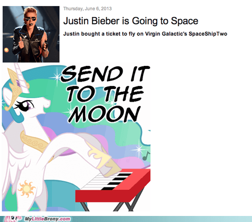 celestia to the moon justin bieber - 7544526336