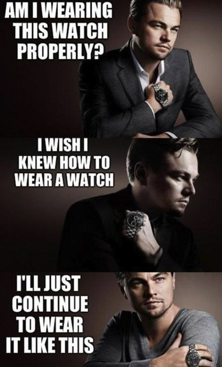 leonardo dicaprio,glamour shot,watches