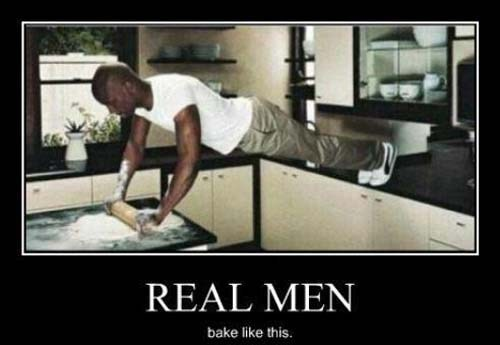 dads buff baking funny real men - 7544588800