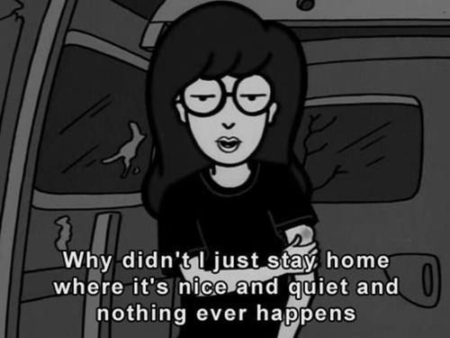 quotes mtv TV daria introverts - 7544639744